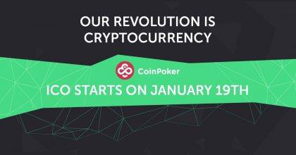 CoinPoker's ICO Launch is Just a Couple of Weeks Away