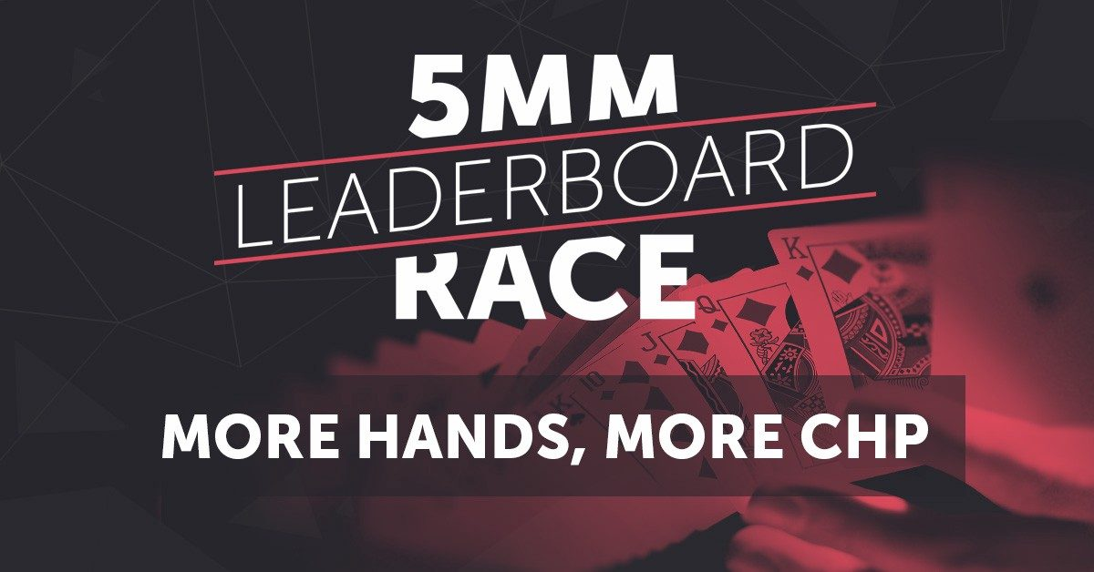 Race on the CoinPoker Leaderboard to Win a Share of 5 Million CHP