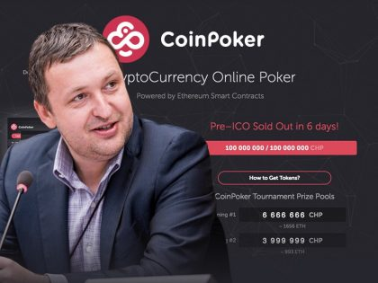 Six Days Into the CoinPoker Pre-ICO and We're Already Sold Out!
