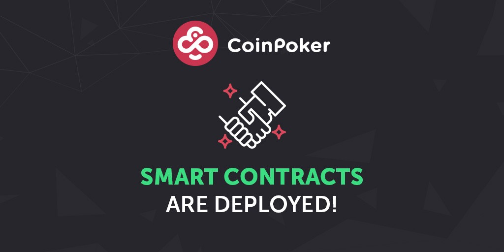 Smart Contracts Deployed and More ICO Info from CoinPoker's CTO