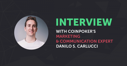 CoinPoker Advisor Danilo S. Carlucci Talks Poker, Crypto, and Communications