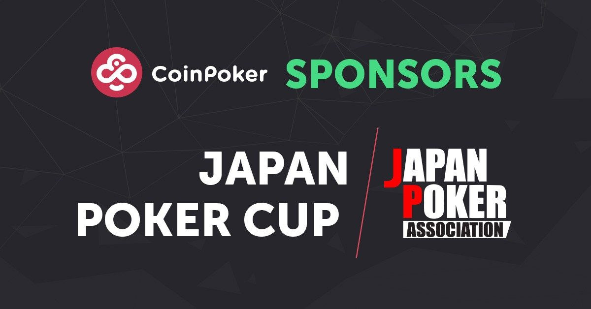 It's Official! CoinPoker Sponsors Japan Poker Cup