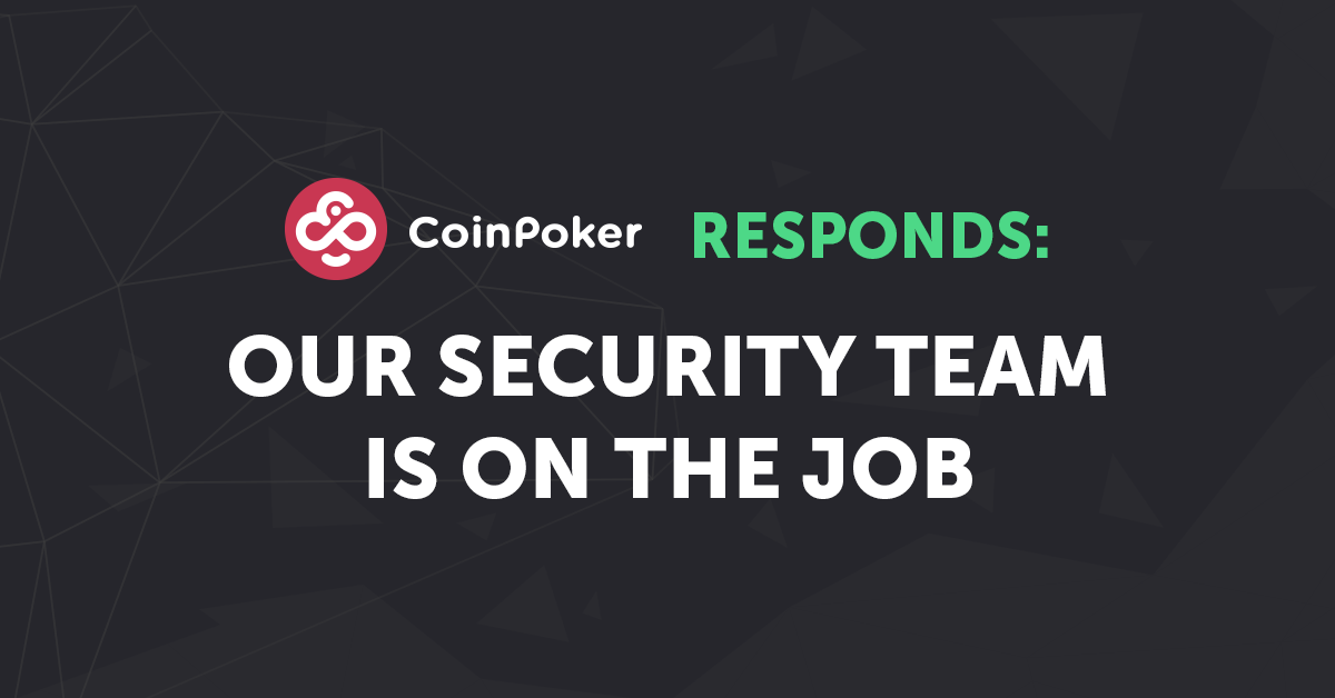 Our Security Team Responds to Poker Media Bot Claims
