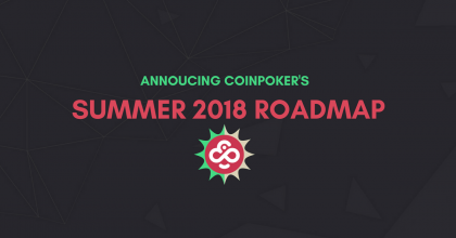 CoinPoker Roadmap 2018