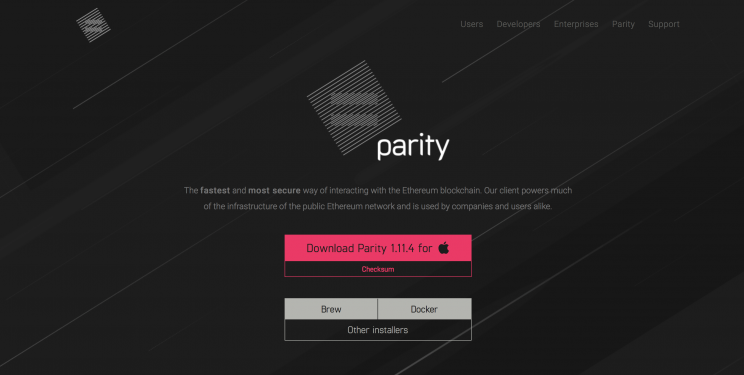 CHP Soft Wallet #3 Parity