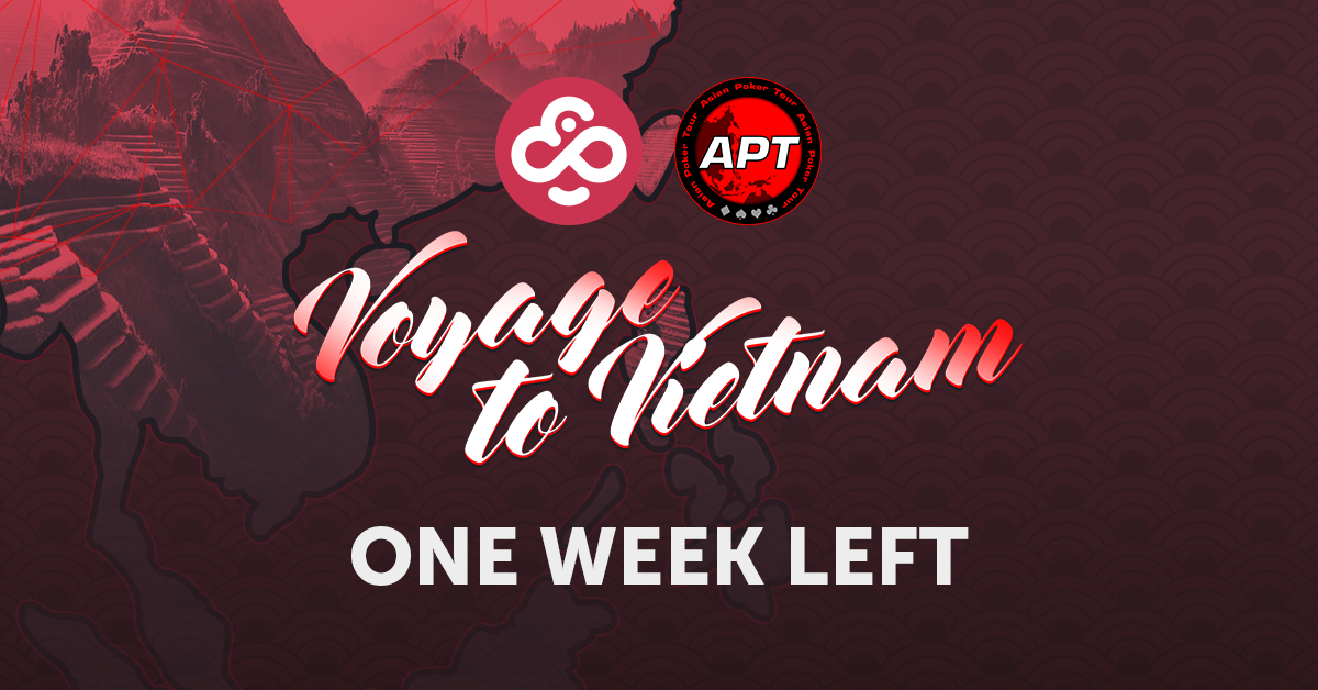 One Week Left to Win an Expense Paid Package to Vietnam's APT Main Event