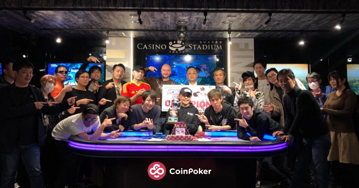 Reporting from Tokyo: Sponsoring the Japan Poker Cup 2018