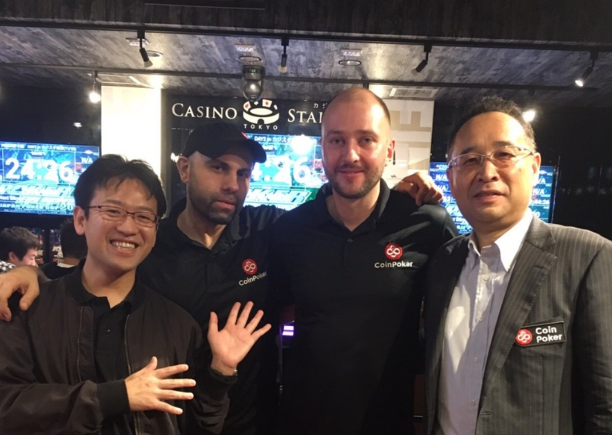 CoinPoker Sponsors Japan Poker Cup 2018
