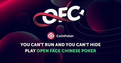 Play Open Face Chinese (OFC) Pineapple on CoinPoker
