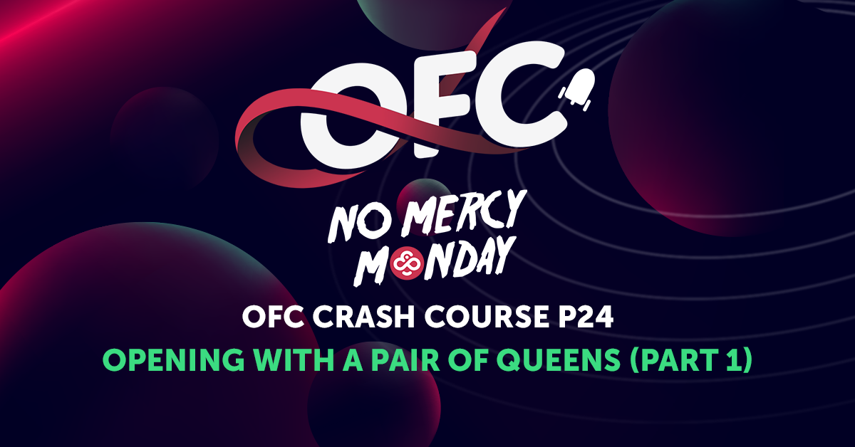 Open Face Chinese Poker Crash Course - OFC Open with a pair Queens