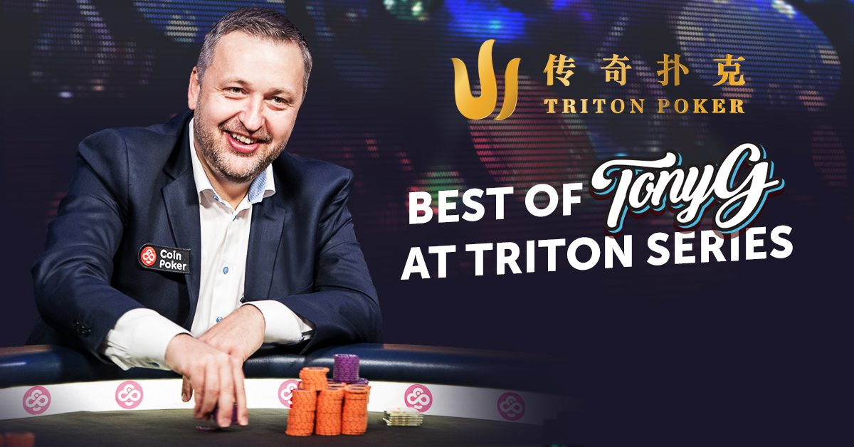 Coinpokers TonyG at Triton Poker Series