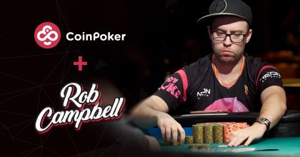 Rob Campbell joins Team CoinPoker