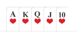Poker hand Royal Straight Flush or Royal Flush