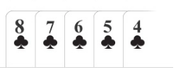 Poker hand Straight Flush