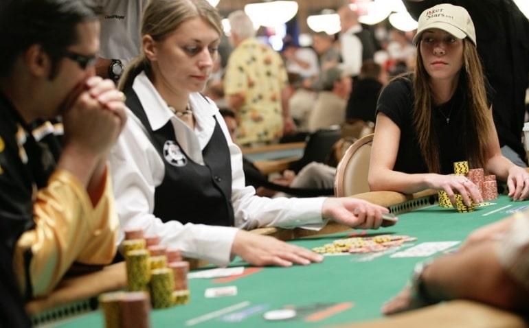 Mercier At Poker Table