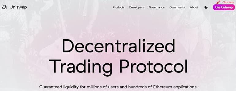 UniSwap Decentralized Protocol