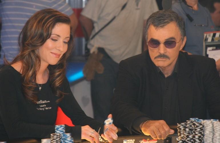 Isabelle and Burt Reynolds