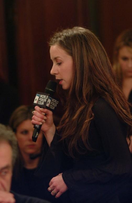 Isabelle Mercier WPT